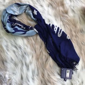 🛍5/$20🛍 Sperry Blue & White Boat Shoe Scarf